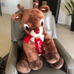 Rudolph the Red Nosed Reindeer GIANT JUMBO Plush